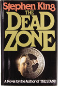 Books:Signed Editions, Stephen King. The Dead Zone. New York: The Viking Press,[1979]....