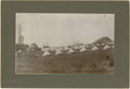 Western Expansion:Goldrush, Cabinet Card Photograph Military at Mining Company ca 1900s-1900s -...