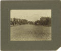 Photography:Cabinet Photos, Large Format Photograph Western Street Scene ca 1890s....