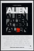 "Movie Posters:Science Fiction, Alien (20th Century Fox, 1979). One Sheet (27"" X 41"") Tri FoldedAdvance. Science Fiction...."
