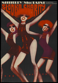 "Sweet Charity (Universal, 1969). Polish One Sheet (22"" X 31.5""). Musical"