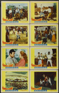 "Movie Posters:Adventure, The Fiercest Heart (20th Century Fox, 1961). Lobby Card Set of 8(11"" X 14""). Adventure.... (Total: 8 Items)"