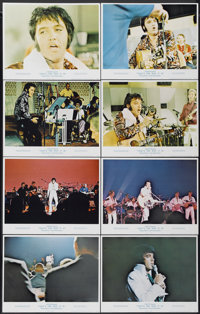 """That's the Way It Is (MGM, 1971). Lobby Card Set of 8 (11"""" X 14""""). Elvis Presley.... (Total: 8 Items)"""