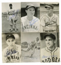 Autographs:Post Cards, Vintage Baseball Stars Signed Postcards Lot of 18 . Beautiful lotof postcard photos signed by stars and Hall of Famers fro...