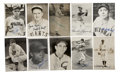 Autographs:Post Cards, Vintage Baseball Stars Signed Postcards Lot of 23. Twenty-threepost card photos signed by Hall of Famers and stars. Single ...