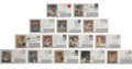 Autographs:Letters, Vintage Baseball Star Signed First Day Covers Lot of 14. Greatassortment of 14 First Day Covers, all in gorgeous condition...