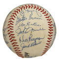 Autographs:Baseballs, 1984 Detroit Tigers Team Signed Baseball. The OAL (Brown) baseballhas been signed by twenty--five members of that World Ch...
