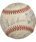 Autographs:Baseballs, 1992 Cincinnati Reds Team Signed Baseball. All the top Reds arepresent and accounted for on the ONL (White) baseball. O'Ne...