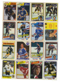Hockey Cards:Lots, 1980-1988 O-Pee-Chee and Topps Hockey Collection (582). Fantasticstar-heavy collection includes 198-81 Topps (10 cards and ...