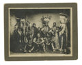 Military & Patriotic:Indian Wars, Imperial Size Cabinet Card Photograph of a Group of Nez Perce Indians, ca. 1890s. ...