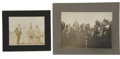 Military & Patriotic:Indian Wars, Two Cabinet Card Photographs of Native American Indians, ca.1890s.... (Total: 2 Items)
