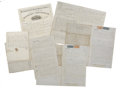 Miscellaneous:Ephemera, Lot of Six Minnehaha Missouri River Steamer Documents, New Orleans1865.... (Total: 6 Items)