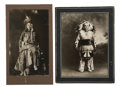 Photography:Cabinet Photos, Lot of Two Cabinet Card Photographs of Nez Perce Indians, ca.1900s. ... (Total: 2 Items)