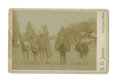 Western Expansion:Indian Artifacts, Cabinet Card Photograph of Four Yakima Indians on Horseback, ca.1880s-1890s....