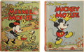 Books:Children's Books, Two Mickey Mouse Pop-Up Books, including:... (Total: 2 Items)