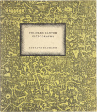 [Gustave Baumann]. Frijoles Canyon Pictographs Recorded in Woodcuts and Hand Printed by Gustave Baumann
