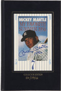 Autographs:Others, Mickey Mantle Signed Book. Fabulous account of the Mick's best season is the subject of the autobiographical book My Favor...