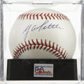 Autographs:Baseballs, Y. A. Tittle Single Signed Baseball, PSA Mint 9. Offered here isthe unique chance to get a strong single signed baseball co...