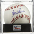 Autographs:Baseballs, Tom Seaver Single Signed Baseball, PSA Gem Mint 10. The greathurler Seaver has applied an excellent sweet spot signature to...