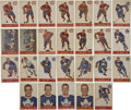 Hockey Cards:Lots, 1957-58 Parkhurst Hockey Near Complete Set (33/50). This setconsists of 25 cards each for the Montreal Canadiens and Toront...