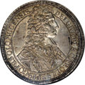 Austria: , Austria: Olmutz. Charles III Joseph Broad Taler 1707, KM116, Davenport 1211, MS63 NGC, just a beautiful coin with meticulously sharp ...