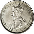 Australia: , Australia: George V Florin 1925, KM27, choice AU-UNC, very sharp details and full mint brilliance....