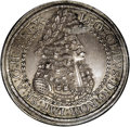 Austria: , Austria: Leopold the Hogmouth 2 Taler ND (1686-96) Hall, KM1338,Davenport 3252, MS62 NGC, medium gray patina with the usually sharp...