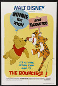 "Movie Posters:Animated, Winnie the Pooh and Tigger Too (Buena Vista, 1974). One Sheet (27""X 41""). Animation. Starring Sebastian Cabot, Sterling Hol..."