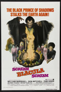 "Movie Posters:Blaxploitation, Scream Blacula Scream (MGM, 1973). One Sheet (27"" X 41"").Blaxploitation Horror. Starring William Marshall, Don Mitchell,Pa..."