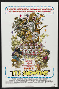 "It's Showtime (United Artists, 1976). One Sheet (27"" X 41""). Documentary. Wirtten by Alan Myerson. One of the..."