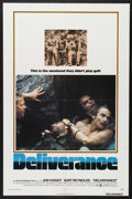 "Movie Posters:Action, Deliverance (Warner Brothers, 1972). One Sheet (27"" X 41""). Action.Starring Burt Reynolds, Jon Voight, Ronny Cox and Ned Be..."