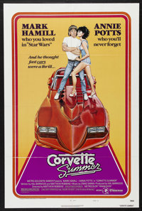 "Corvette Summer (MGM, 1978). One Sheet (27"" X 41"") Style B. Action. Starring Mark Hamill, Annie Potts, Eugene..."