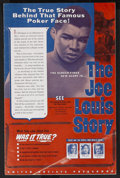 "Movie Posters:Sports, The Joe Louis Story (United Artists, 1953). Pressbook (11"" X 17""), (Multiple Pages). Sports Biography. Starring Coley Wallac..."