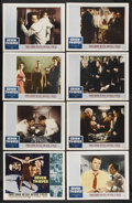 "Movie Posters:Crime, Seven Thieves (20th Century Fox, 1959). Lobby Card Set of 8 (11"" X14""). Crime. Starring Edward G. Robinson, Rod Steiger, Jo...(Total: 8 Items)"