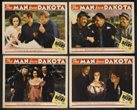 "The Man from Dakota (MGM, 1940). Lobby Cards (4) (11"" X 14""). War. Starring Wallace Beery, John Howard, Dolore..."