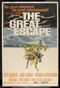 "Movie Posters:Adventure, The Great Escape (United Artists, 1963). Poster (40"" X 60""). WarAdventure. Starring Steve McQueen, James Garner, Richard At..."