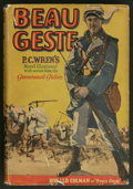 "Movie Posters:Adventure, Beau Geste (Paramount, 1926). Photoplay Edition Book (418 pages,5.25"" X 7.5""). Adventure. Starring Ronald Colman, Neil Hami..."