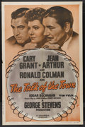 """Movie Posters:Comedy, The Talk of the Town (Columbia, R-1949). One Sheet (27"""" X 41""""). Comedy. Cary Grant, Jean Arthur and Ronald Colman. Directed ..."""