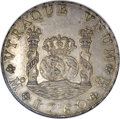 Mexico: , Mexico: Charles III Pillar 8 Reales 1760 Mo-MM, KM105, Cayon-11885,AU50 ANACS. Sharply struck and minimally abraded with traces of ...