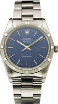 "Timepieces:Wristwatch, Rolex Men's Stainless Steel ""Air King"" Wristwatch, circa 1990. ..."