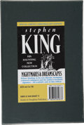 Books:First Editions, Stephen King. Nightmares & Dreamscapes. London SydneyAuckland: Hodder & Stoughton, [1993]. ...