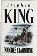 Books:First Editions, Stephen King. Dolores Claiborne. London New York SydneyToronto: BCA, [1992]....