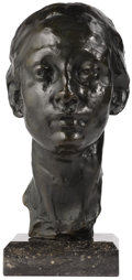 Bronze:European, PROPERTY FROM THE CROW ART PARTNERSHIP COLLECTION. . RIK WOUTERS (Belgian, 1882-1916). Nel Wouters, 20th Century. Bronze...