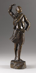 Bronze:American, After MALVINA HOFFMAN (American, 1887-1966). Gaelic Dancer .Bronze. Signed and dated on base: MALVINA HOFFMAN / 1916...