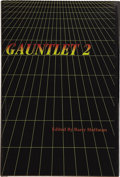 Books:First Editions, [Stephen King]. Barry Hoffman, editor. Gauntlet 2.Baltimore: Borderlands Press, 1991....