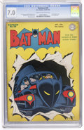Golden Age (1938-1955):Superhero, Batman #20 (DC, 1943) CGC FN/VF 7.0 Cream to off-white pages....