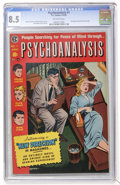 Golden Age (1938-1955):Horror, Psychoanalysis #1 (EC, 1955) CGC VF+ 8.5 Off-white pages....