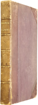 Charles Dickens. The Posthumous Papers of The Pickwick Club. Philadelphia: Carey, Le