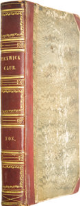 Books:First Editions, Charles Dickens. The Posthumous Papers of the Pickwick Club.Philadelphia: Carey, Lea and Blanchard, 1838....