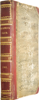 Charles Dickens. The Posthumous Papers of the Pickwick Club. Philadelphia: Carey, Lea and Blanc